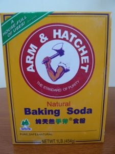 keelpijn baking soda