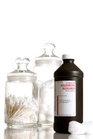keelpijn hydrogen peroxide