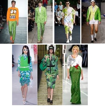Greenery modekleur 2017 fashion
