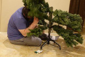 kerstboom schadelijk kunststof boom