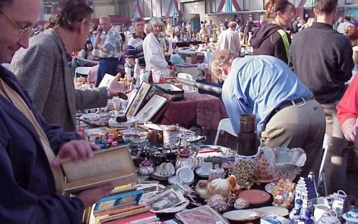 weekendtips vlooienmarkt wageningen
