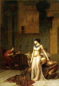internationale dag vrouw cleopatra