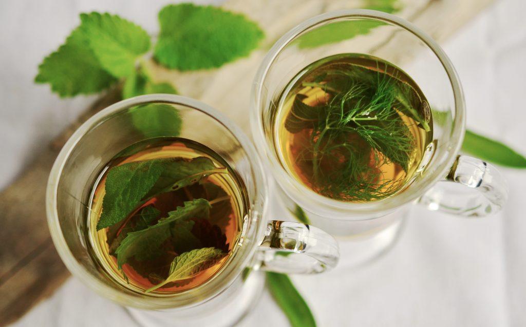 medicinale plant salie thee