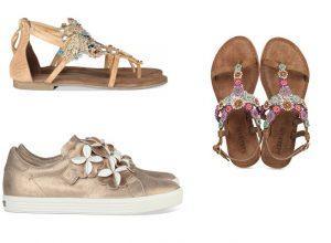 slippers en sneakers