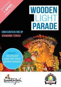 weekendtips maart april wooden light parade