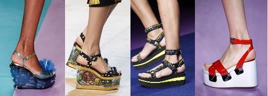 schoenentrends platform schoenen