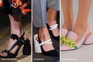 schoenentrends ronde blokhakken