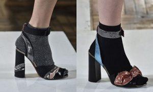 schoenentrends sandalen sokken