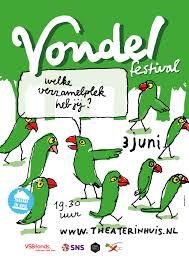 Pinksteren 2017 vondel festival