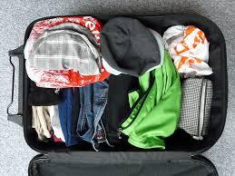 tips jongeren alleen vakantie koffer