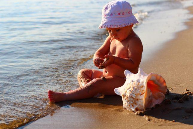 onnebrand, zonnesteek warmte-uitslag kinderen