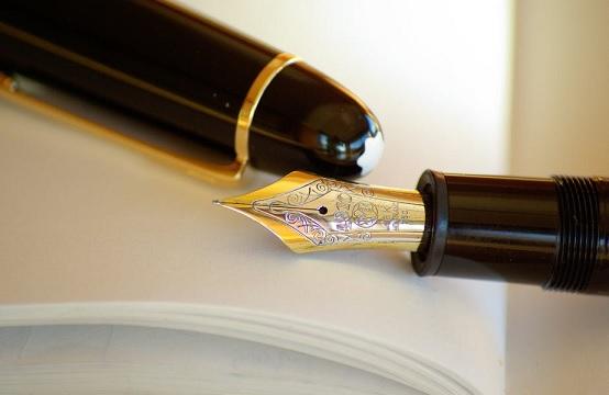 cadeau mannen pen