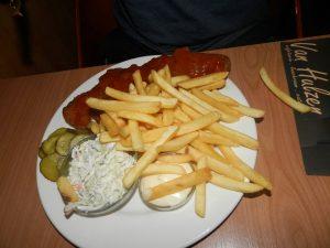 cafetaria lunchroom van Hulzen jagerschnitzel