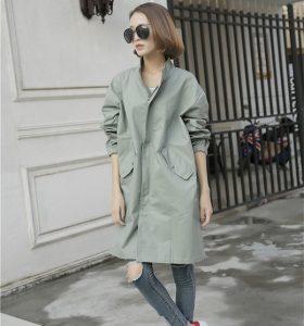 de modetrends herfst winter nylon jas