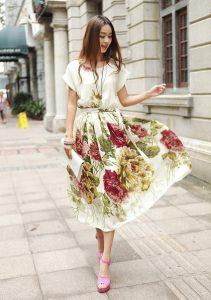 de modetrends herfst winter vintage bloemen