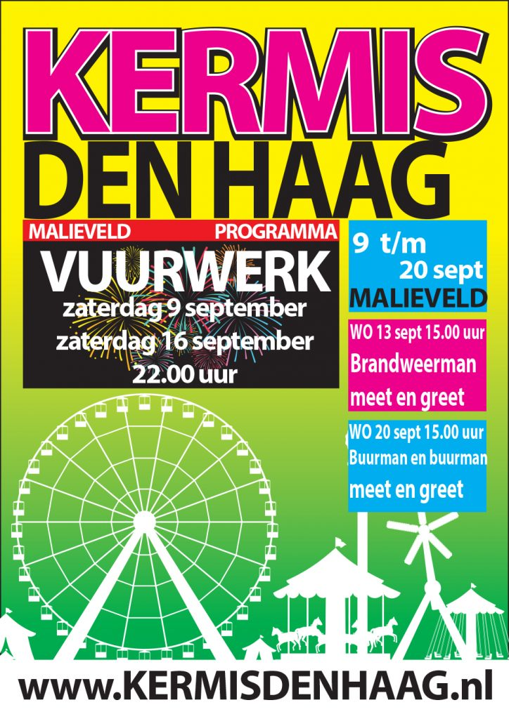 weekendtips 15 - 17 september Kermis Den Haag