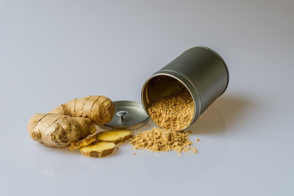 citroen gember siroop huismiddel recept gember