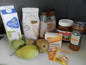 recept peren nutella cake ingredienten