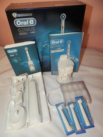 review Oral B Genius 8000s