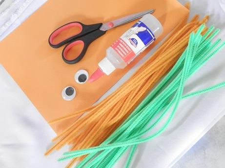 DIY voor kinderen pompoen 1
