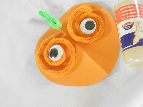 DIY voor kinderen pompoen 5