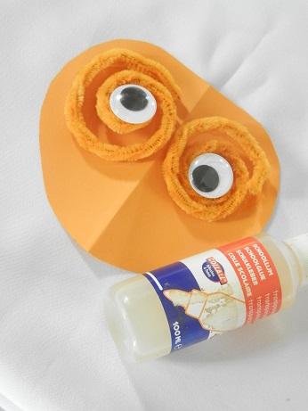 DIY voor kinderen pompoen 4