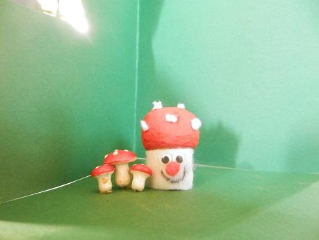 DIY voor kinderen paddenstoel maken