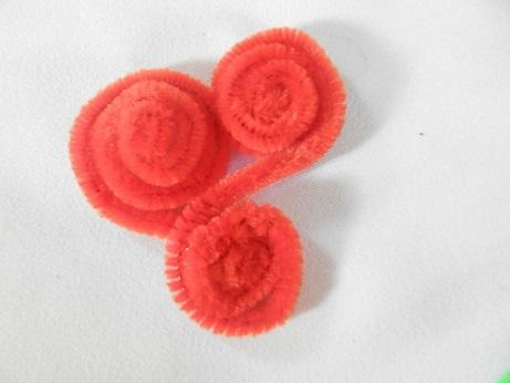 DIY voor kinderen pijpenrager bloem maken 2