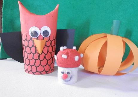 DIY voor kinderen uil maken 4