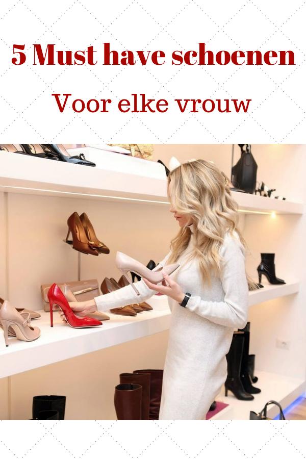 Schoenen5 Must haves voor elke vrouw