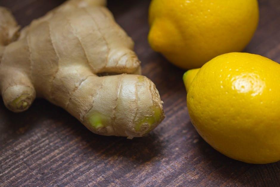 citroen gember siroop huismiddel recept