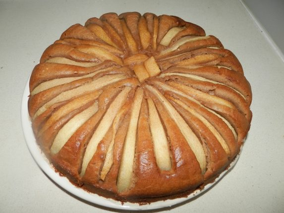 recept peren nutella cake