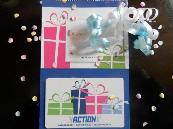winactie action cadeaukaart