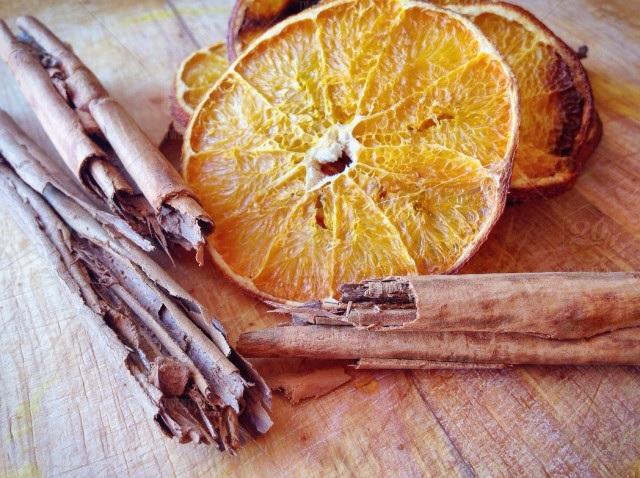 zelf maken potpourri sinaasappel