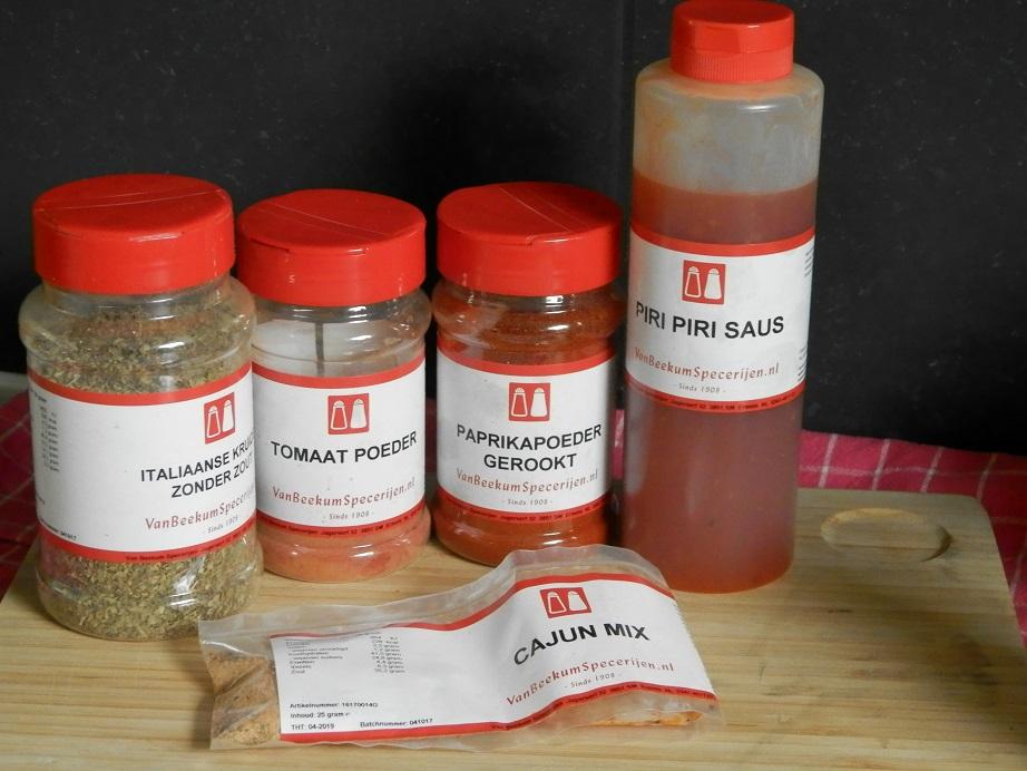 review van beekum specerijen bekende kruiden