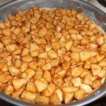 eenvoudig recept ouderwetse appeltaart gevuld