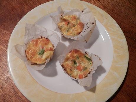 recept eenvoudige hartige cupcakes