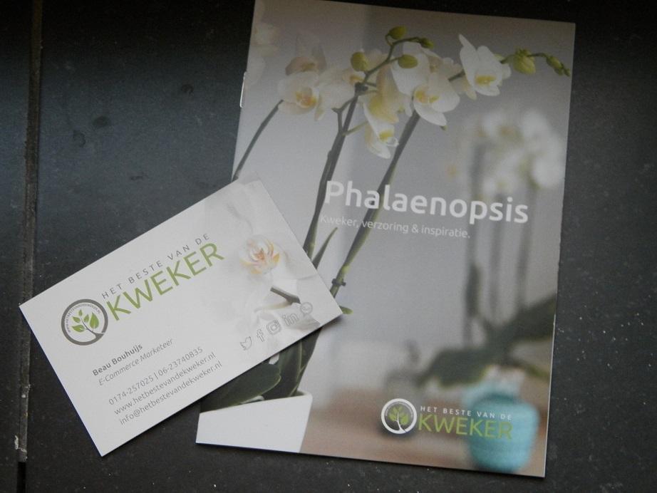 review kerstpakket orchidee het beste van de kweker boekjes