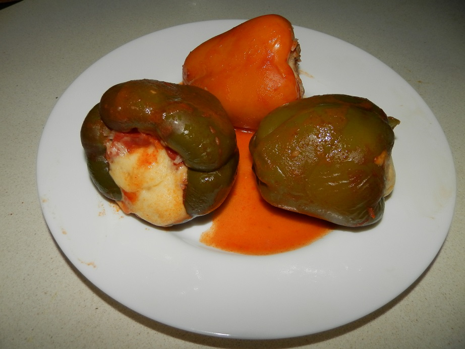 review van beekum specerijen gevulde paprika