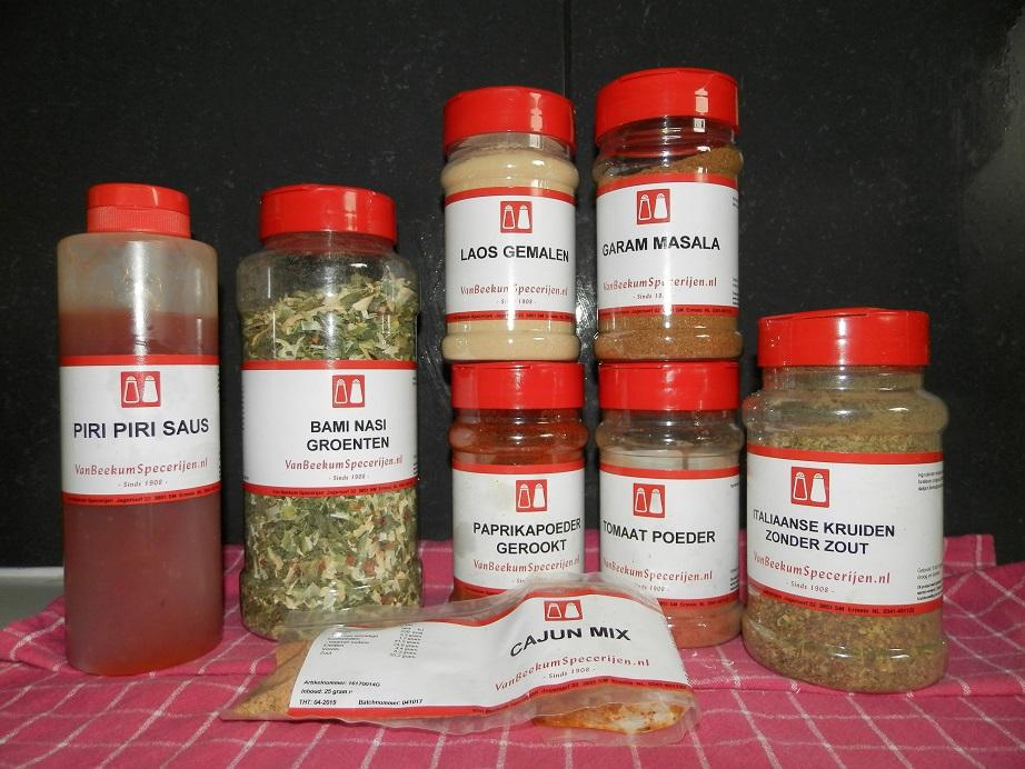 review van Beekum specerijen