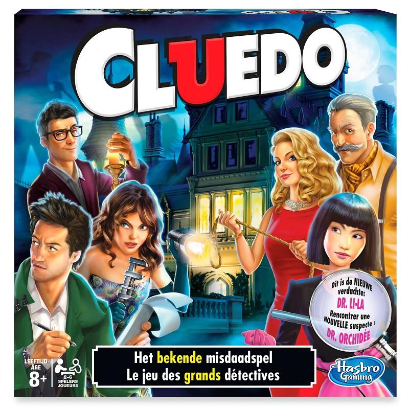 top 10 gezelschapsspelletjes Cluedo