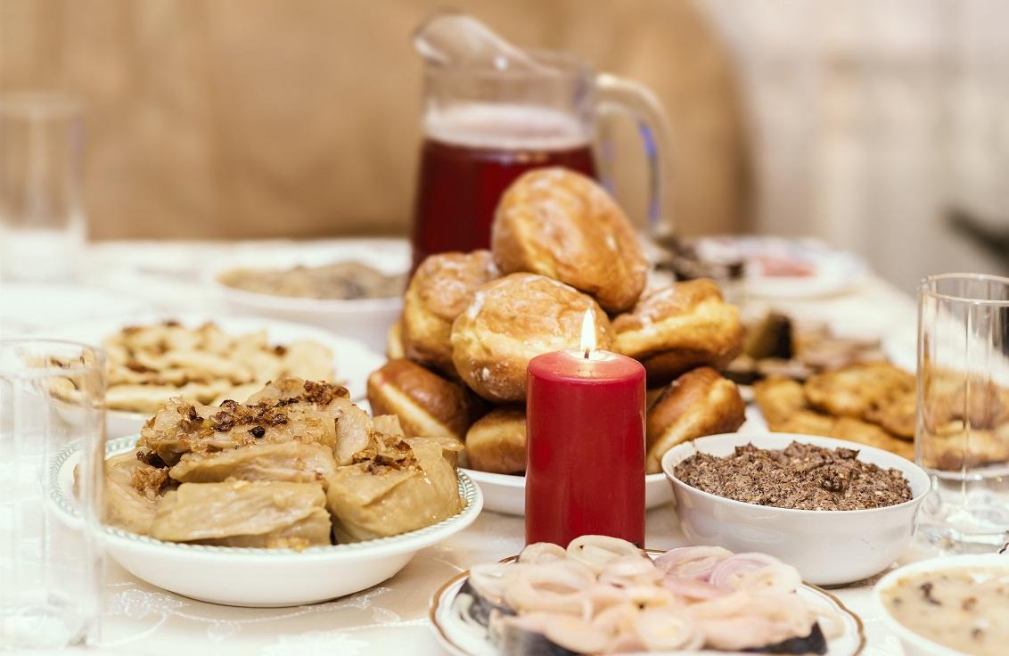 Traditionele kerstmaaltijden europese landen wit rusland