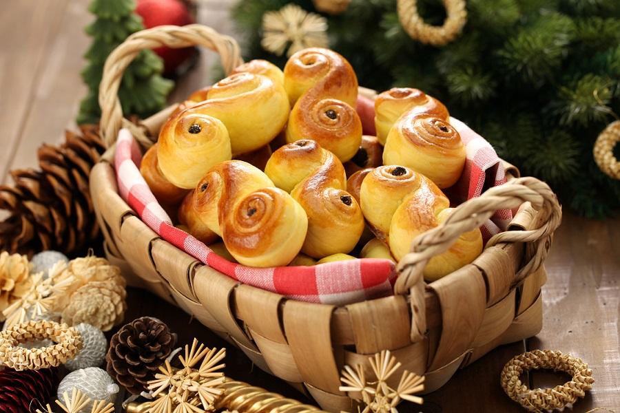 traditionele kerstmaaltijden europese landen lussekatt