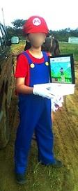 DIY carnaval kostuum Mario of luigi zelf maken