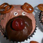 de meest schattige kerstcupcakes ever maken gezicht