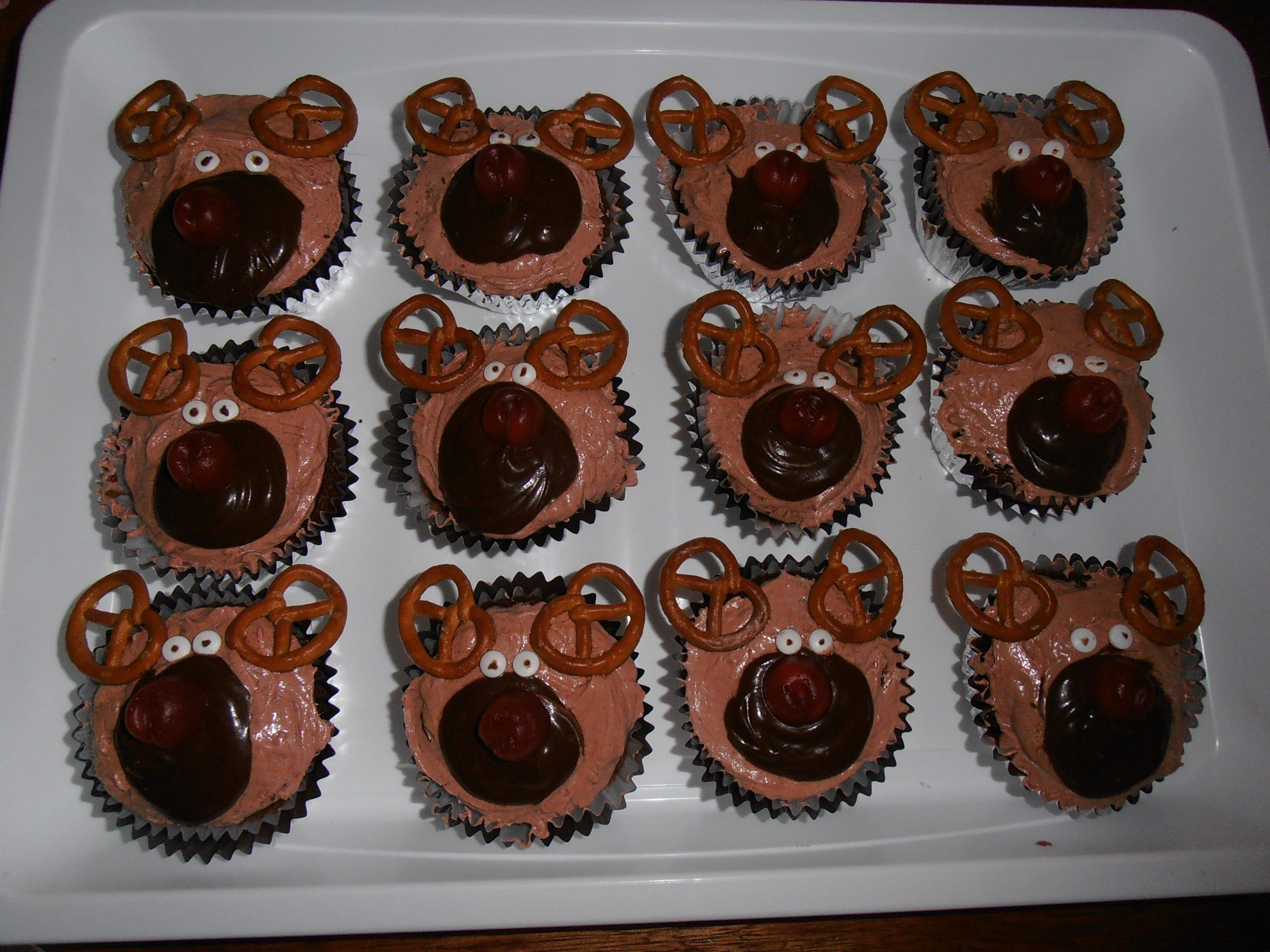 de meest schattige kerstcupcakes ever maken
