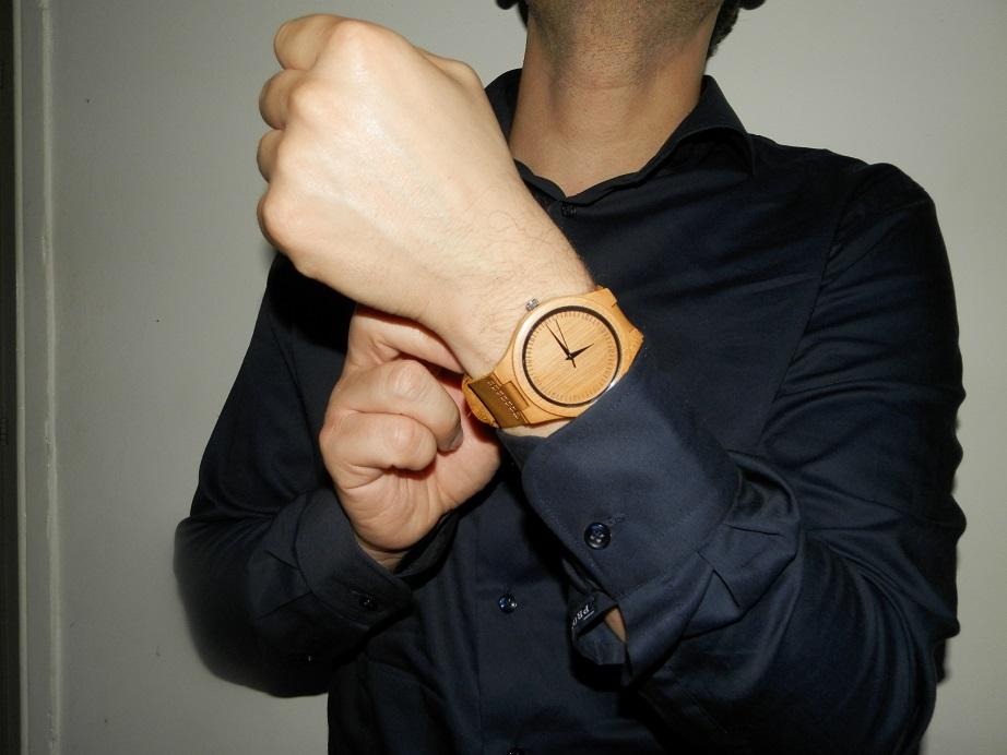 shoptegoed creative use of technology houten horloge