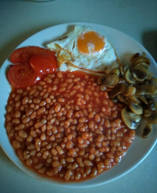 Het Engelse ontbijt vega