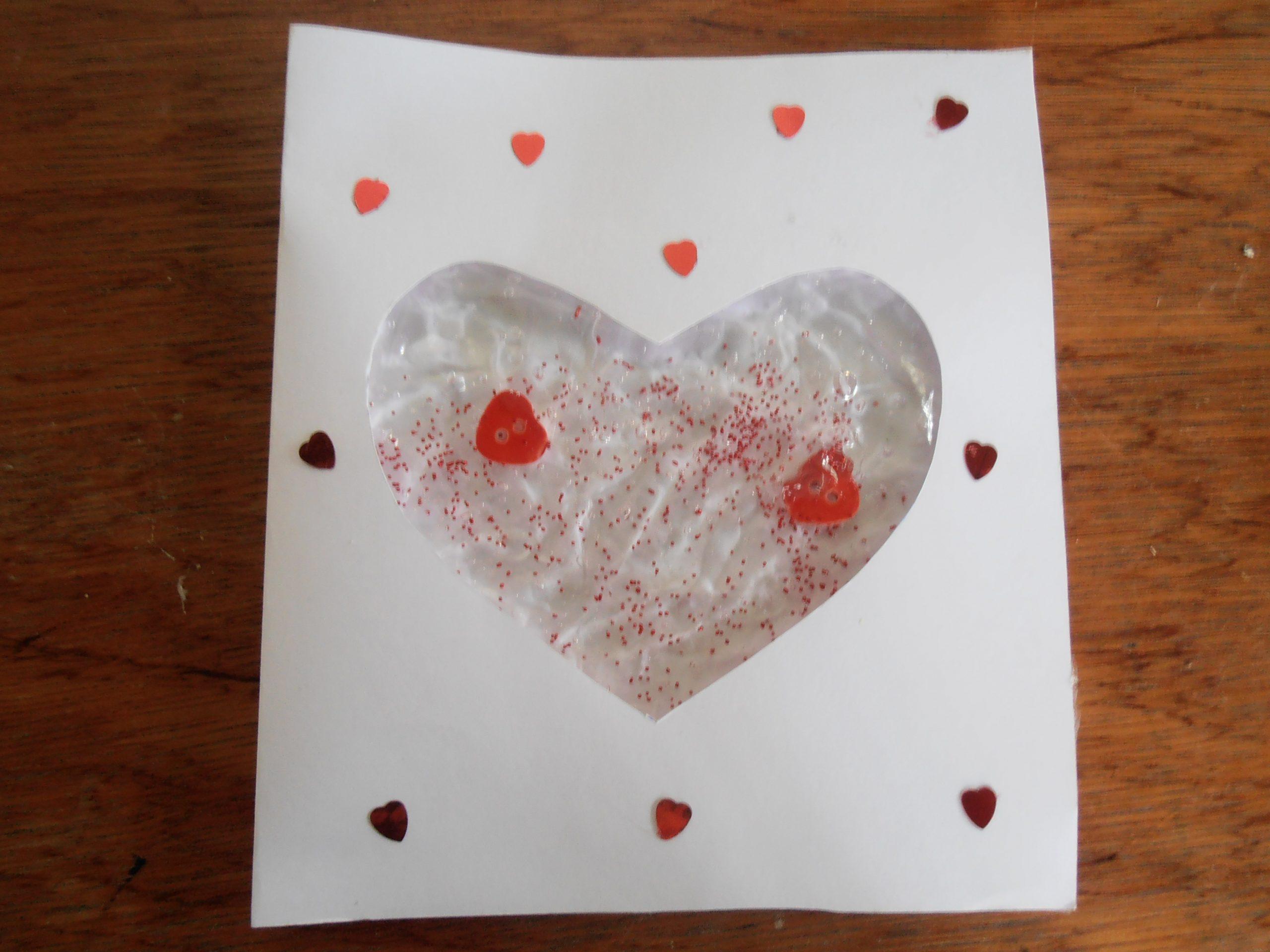 DIY Valentijnskaart maken