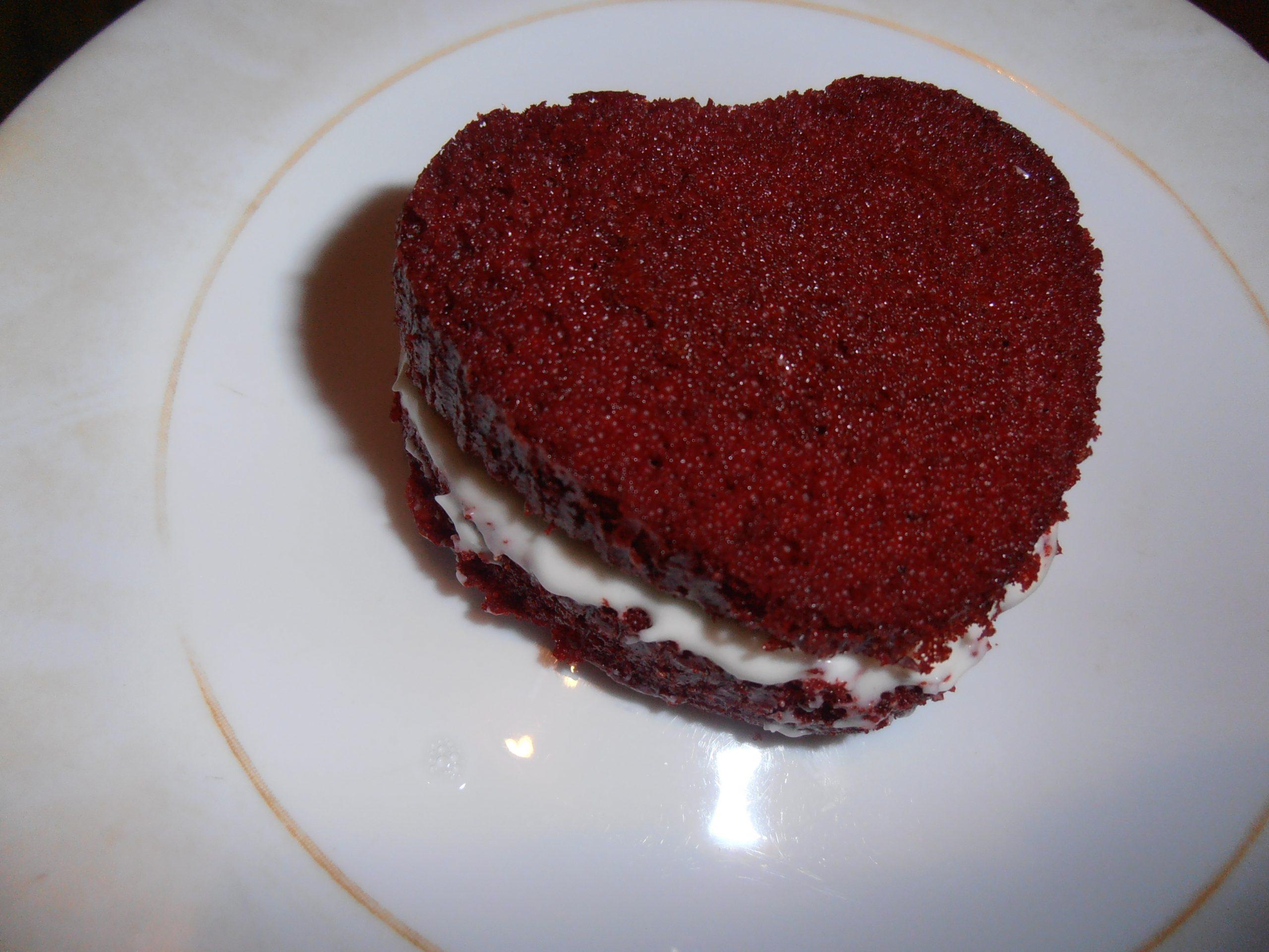 Valentijn recept red velvet whoopie hartjes